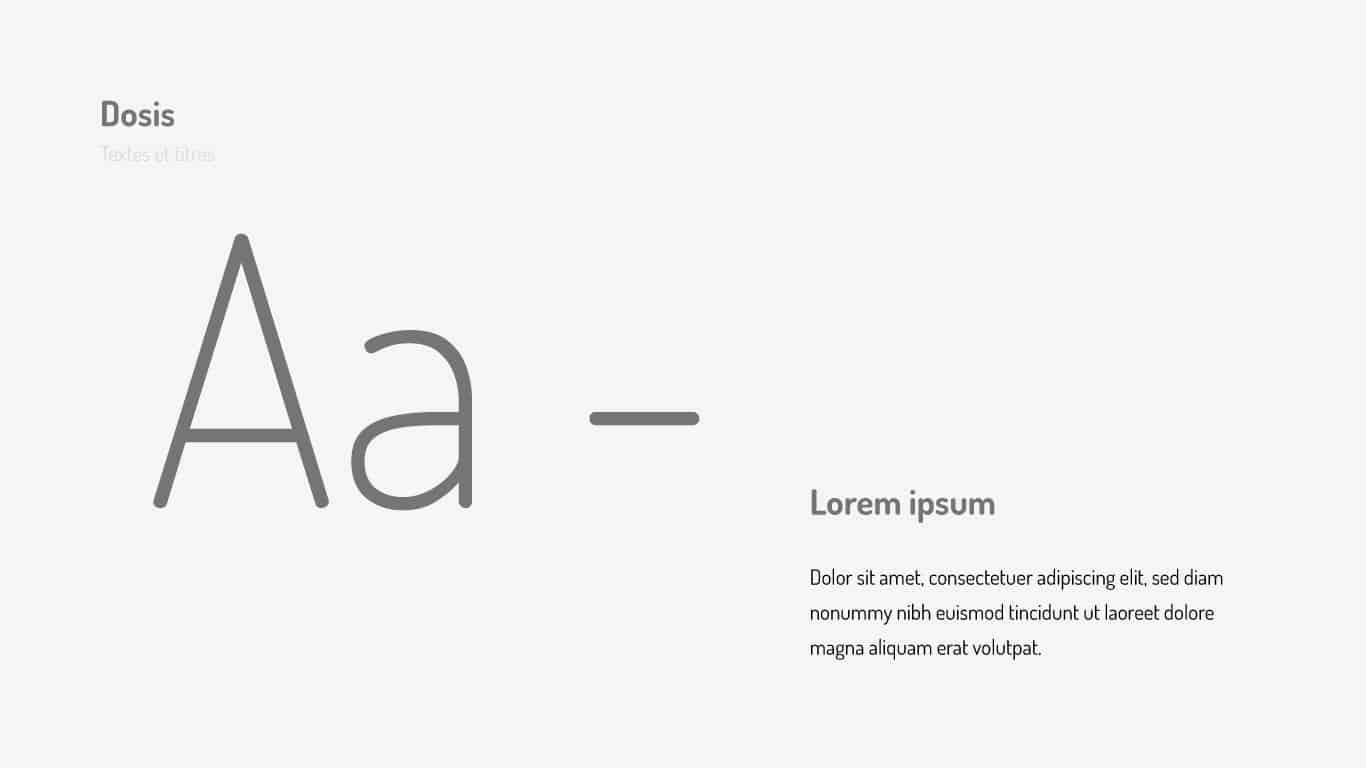 Typographie Azuralp