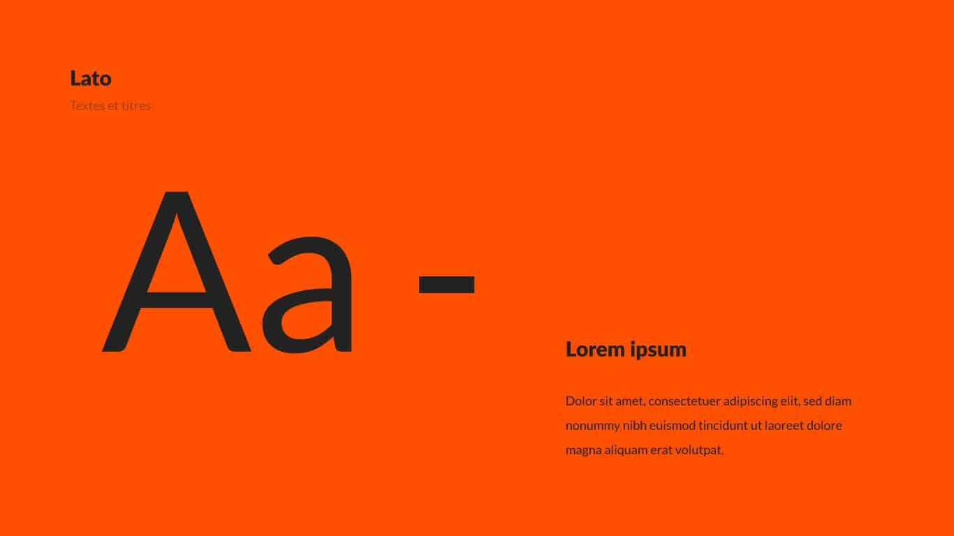 Typographie lato siclem