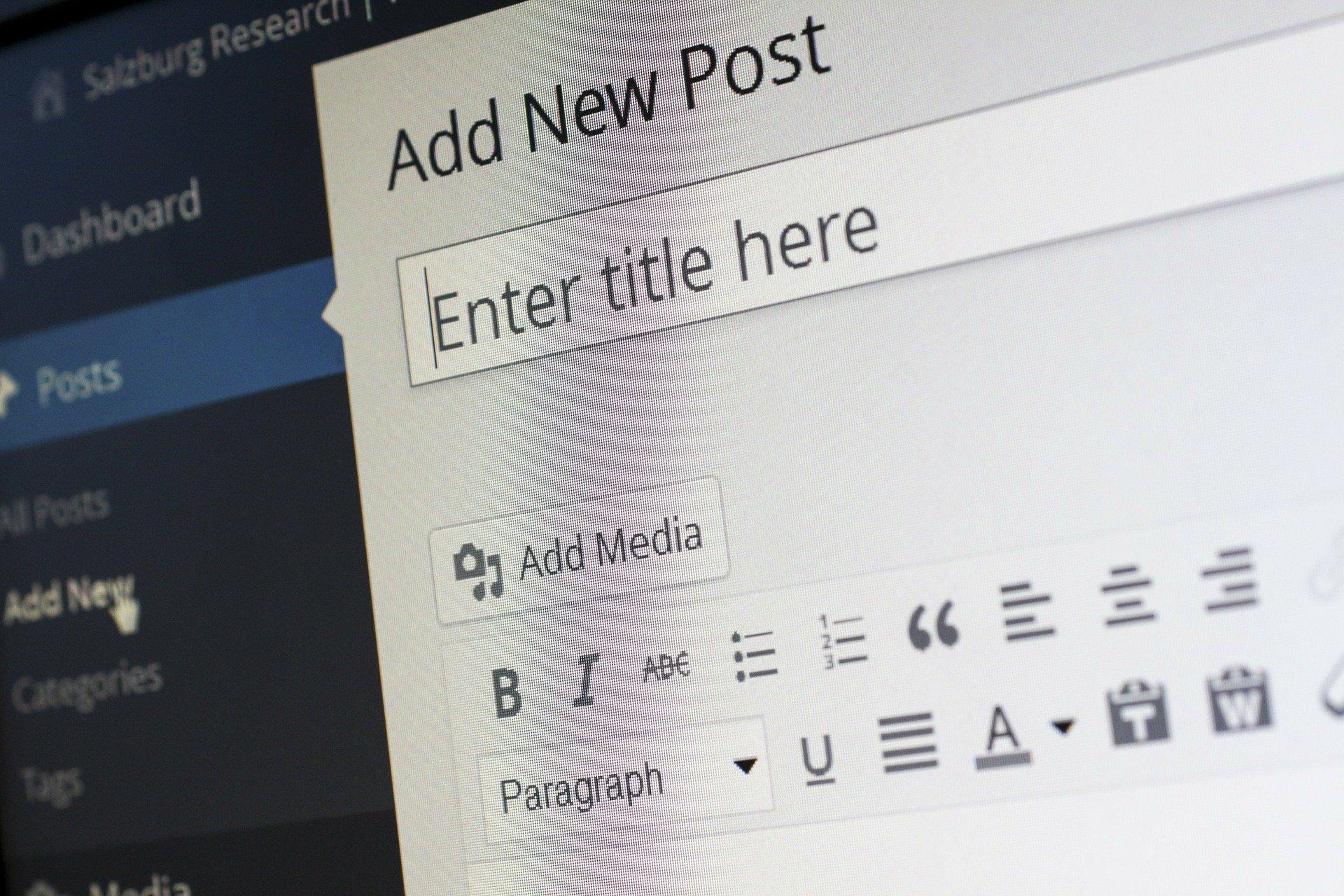 Image pleine largeur article se connecter à wordpress siclem
