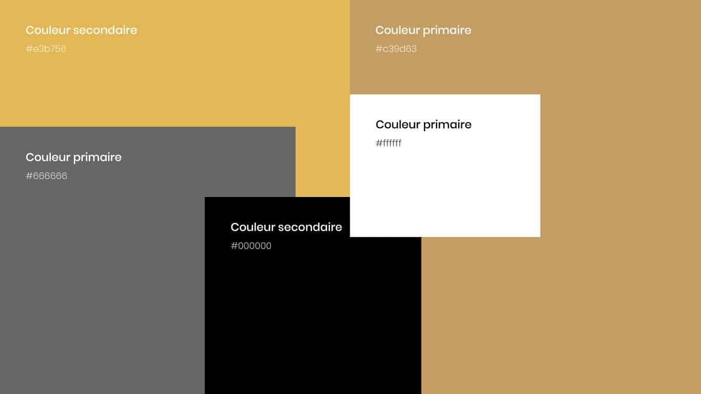 Pallette de couleurs Andiamo Osteria
