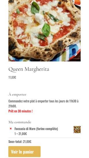 template mobile Andiamo Osteria 2